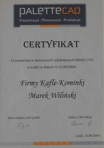 wilinski-certyfikat-palettecad